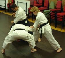 Bunkai Training