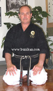 Sensei Franco Sanguinetti of the MKKI